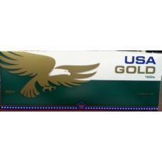 USA GOLD MENTHOL DARK GREEN 100'S BOX