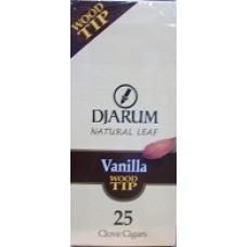 DJARUM WOODTIP VANILLA /25