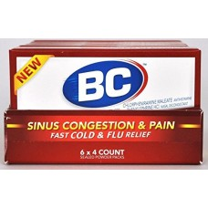 BC Sinus Congestion & Pain/6-4pk