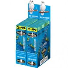 WHITE OWL BLUE RASPBERRY Cigarillos 2pk/30-99c