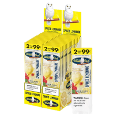 WHITE OWL SPIKED LEMONADE Cigarillos 2pk/30-99c **LIMITED EDITION**