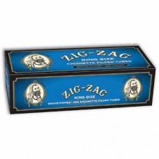 ZIG-ZAG WHITE TIPPED TUBES KING/5-200