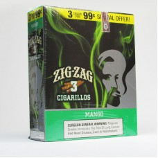 ZIG-ZAG Cigarillos Mango/15-3 for 99c (24)