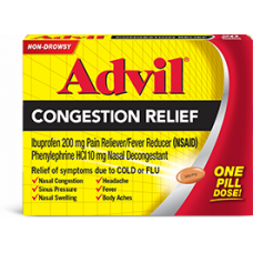 ADVIL Congestion Relief/25-1's