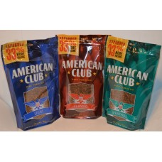 AMERICAN CLUB MENTHOL PIPE TOB 6oz (green)