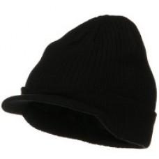 WOOLEN CAP W/ VISOR/ 12