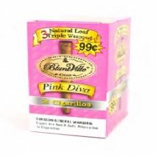BLUNTVILLE Pink Diva Cig /25-99c
