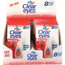 CLEAR EYES DROPS DISPLAY / 12