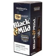 BLACK & MILD CASINO PLASTIC TIP / 25-79c