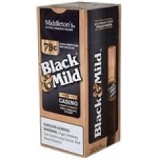 BLACK & MILD CASINO Wood Tip / 25 (No Pre Price)