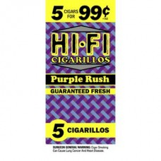 HI-FI 5 FOR 99c CIGARILLOS