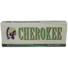 CHEROKEE MENTHOL GOLD 100'S BOX
