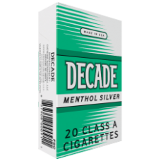 DECADE MENTHOL KINGS BOX
