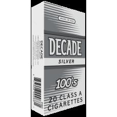 DECADE SILVER 100'S BOX
