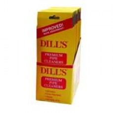 DILL'S YELLOW PREMIUM PIPE CLEANERS/20