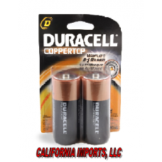 DURACELL D USA/6-2pk [Made In USA]