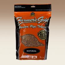 FARMER'S GOLD NATURAL PIPE TOB. 16oz BAG