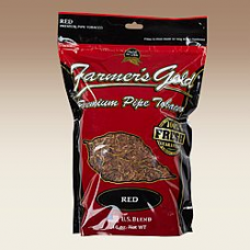 FARMER'S GOLD RED PIPE TOB. 16oz BAG