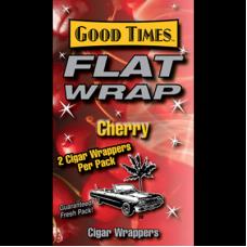 GOOD TIMES FLAT WRAP CHERRY/25-2pk-79c (25)