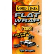 GOOD TIMES FLAT WRAP PEACH/25-2pk-79c (25)