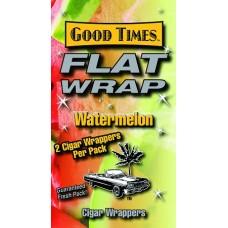 GOOD TIMES FLAT WRAP WATERMELON/25-2pk-79c (25)
