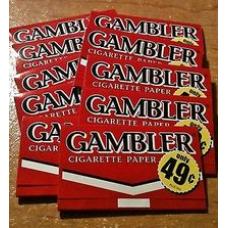 GAMBLER CIGARETTE PAPER/300-49c