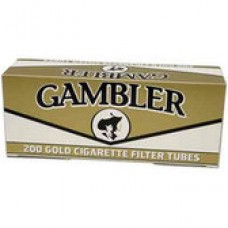 GAMBLER GOLD TUBES 5/200ct (LIGHTS)