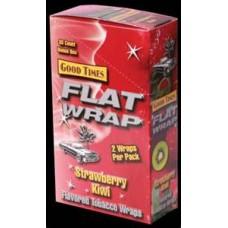 GOOD TIMES FLAT WRAP Straw-Kiwi/25-2pk-79c (25)