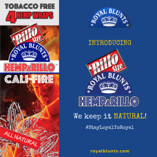 ROYAL BLUNTS HEMPARILLO CALI-FIRE/ 15-4pk-99c