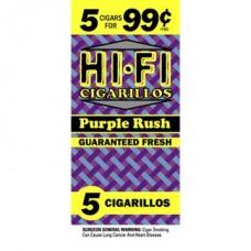 HI-FI CIGARILLOS 5 FOR 99c 15/5pk  SILVER EDITION
