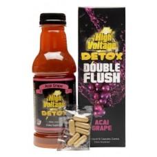 HIGH VOLTAGE DOUBLE FLUSH/16OZ + Capsule