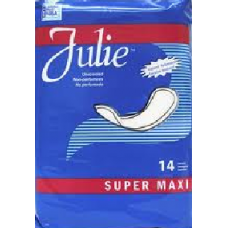 JULIE SUPER MAXI/14 PADS