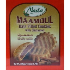 MAAMOUL DATE FILLED COOKIES w/ CINNAMON 11.2oz / 1
