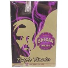 ZIG-ZAG WRAP Grape 25/2pk