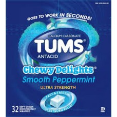 TUMS MINT CHEWY DELIGHT/12