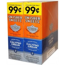 SS CIGARILLOS CALYPSO CREAM/30-2for99c (24)