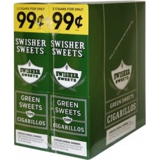 SS CIGARILLOS GREEN SWEET/30-2for99c (24)