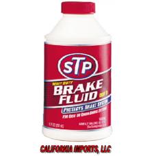 STP BRAKE FLUID 12oz/12