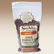 Super Value Pipe Tob. Amaretto/12oz.