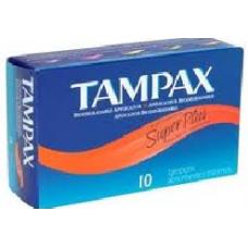 TAMPAX SUPER PLUS 10'S / 12