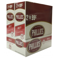 PHILLIES Cigarillos Sweet / 30-2for99c