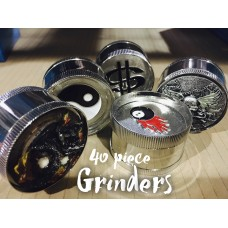 ASSORTED GRINDERS/ 40CT JAR