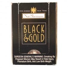 NAT SHERMAN BLACK&GOLD CUBE / 5