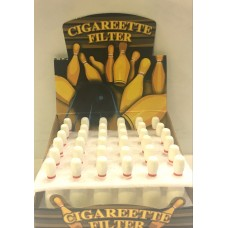 Bowling Pin Cigarette Filter/36