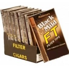 BLACK & MILD FILTER TIPS-85MM/10-5pk