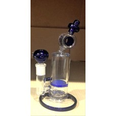 HXH 096 9 Inch with Big Middle body and honey comb perc