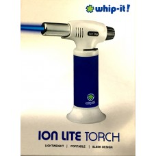 WHIP-IT! Ion Lite Torch Blue Rubberized