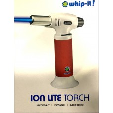 WHIP-IT! Ion Lite Torch Red Rubberized