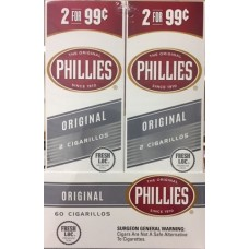 PHILLIES Cigarillos Original / 30-2for99c