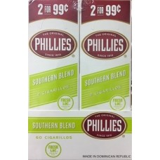 PHILLIES Cigarillos Southern / 30-2for99c